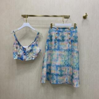 CHANEL - シャネル♡カラフルなトップス+スカート ♡可愛い