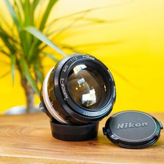 Nikon - 【特選美品】Nikkor S Auto 55mm f1.2 憧れの大口径