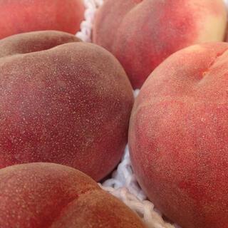 山梨のめっちゃ甘い桃 特大を2キロの箱に6個詰めて発送 料金据え置き お買い得