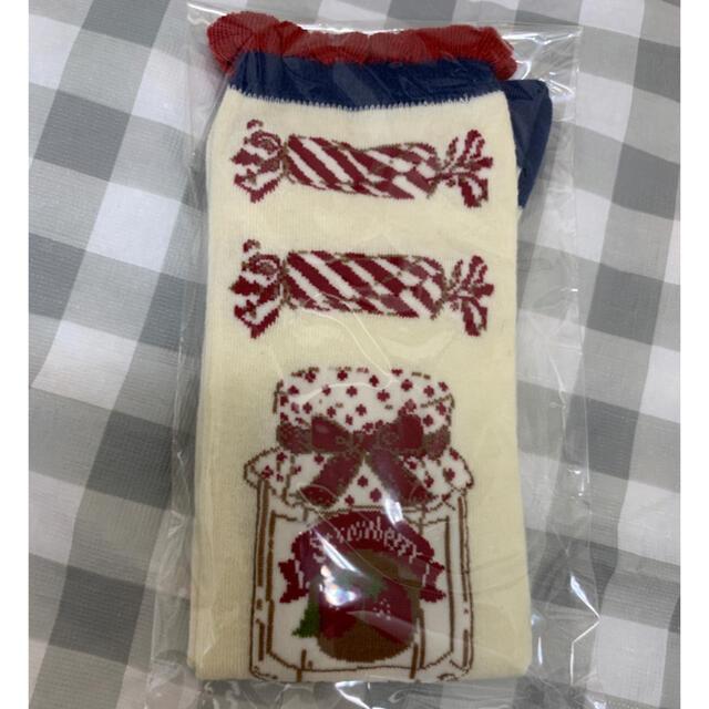 Shirley Temple(シャーリーテンプル)のキャンディポットソックス13-15 白 キッズ/ベビー/マタニティのこども用ファッション小物(靴下/タイツ)の商品写真