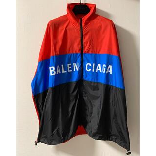 Balenciaga - BALENCIAGA ジップアップロゴ ナイロン トラックジャケット 確実正規品