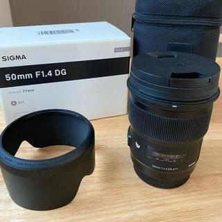 シグマ SIGMA 50mm F1.4 DG HSM Art Canon