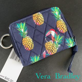 ヴェラブラッドリー(Vera Bradley)の新品 ヴェラブラッドリー RFID ZIP 財布 パイナップル TOUCAN(財布)