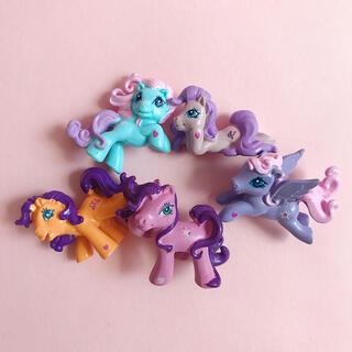 ペコクラブ(PECO CLUB)の【レア】My Little PonyG3 マイリトルポニーG3 フィギュアセット(キャラクターグッズ)