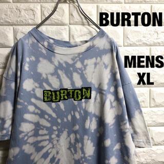 バートン(BURTON)のBURTON  バートン ブリーチ加工 半袖Tシャツ メンズXLサイズ(Tシャツ/カットソー(半袖/袖なし))