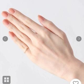 ココシュニック(COCOSHNIK)の【7号】【雑誌掲載】ココシュニック リング カットワーク極光細 リング(リング(指輪))