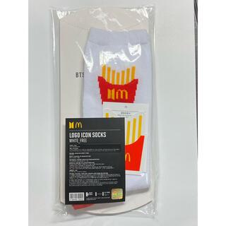 防弾少年団(BTS) - BTS マクドナルド コラボ 靴下 くつ下 ソックス SOCKS 公式  ロゴ