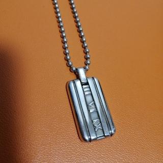Tiffany & Co. - Tiffany アトラスプレート ネックレス