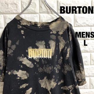 バートン(BURTON)のBURTON  バートン ブリーチ加工 半袖Tシャツ メンズLサイズ(Tシャツ/カットソー(半袖/袖なし))