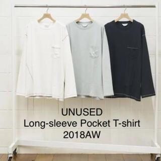 アンユーズド(UNUSED)のUNUSED アンユーズド ステッチ ロンT 2018AW(Tシャツ/カットソー(七分/長袖))
