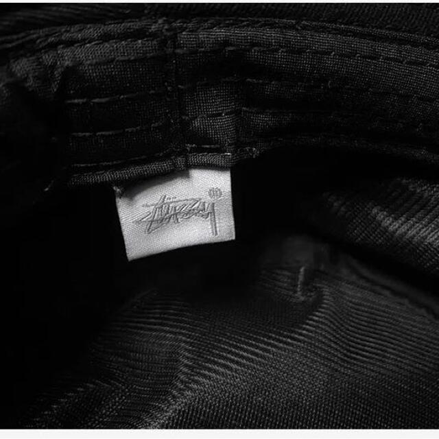 STUSSY(ステューシー)のステューシーSTUSSY バケットハット ブラック男女兼用帽子  即購入⭕️ メンズの帽子(ハット)の商品写真