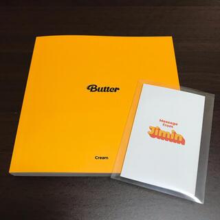 防弾少年団(BTS) - BTS  Butter フォトブック & JIMIN メッセージカード