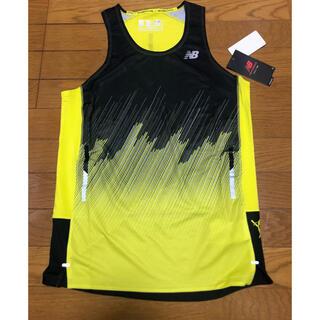 ニューバランス(New Balance)のニューバランス ハンゾー ランシャツ シングレット 新品(ウェア)