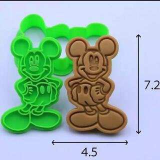 ★クッキー型★ミッキー★ミニー★スティッチ★プーさん★ドナルドダック5個セット