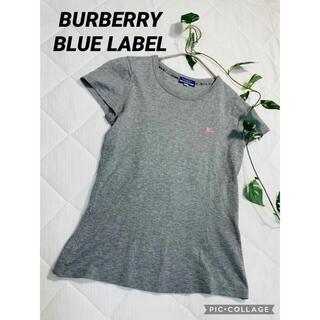 BURBERRY BLUE LABEL - バーバリーブルーレーベル 半袖Tシャツ カットソー
