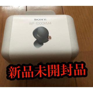 SONY - ソニー SONY フルワイヤレスイヤホン ブラック WF-1000XM4 BM