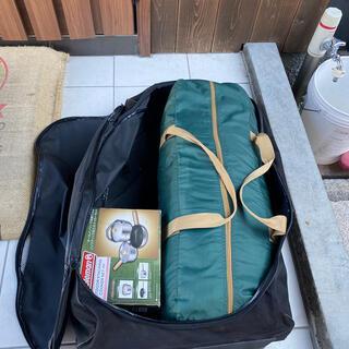 Coleman - コールマン タープ、テント収納バック コロ付き、2人持ち運びとって付き