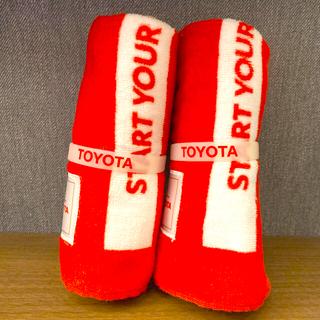 トヨタ - オリンピック聖火リレー応援タオル