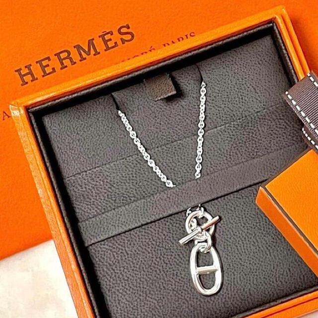 Hermes(エルメス)のHERMES【新品未着用】 ペンダントネックレス シェーヌダンクル アミュレット レディースのアクセサリー(ネックレス)の商品写真