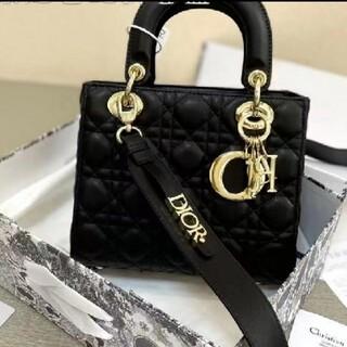 Dior - 超美品 Dior  ディオール Lady ハンドバッグ