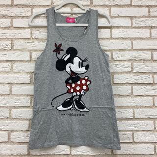 ディズニー(Disney)のDisney ミニーちゃんタンクトップ(Tシャツ(半袖/袖なし))