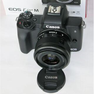 Canon - 美品 Canon EOS Kiss M ズームレンズセット