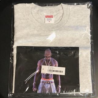 シュプリーム(Supreme)のSupreme Tupac Hologram Tee Ash Grey 2Pac(Tシャツ/カットソー(半袖/袖なし))