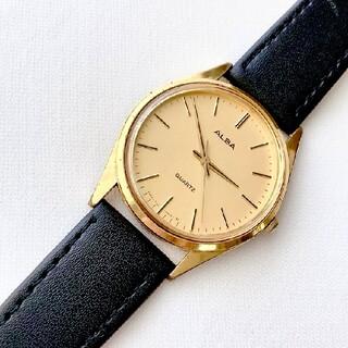 ALBA - ALBA メンズクォーツ腕時計 稼動品 ベルト未使用