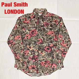 Paul Smith - 【人気】Paul Smith LONDON    総柄シャツ モザイク ローズ