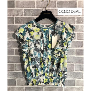 COCO DEAL - COCO DEAL 新品タグ付き ブラウス