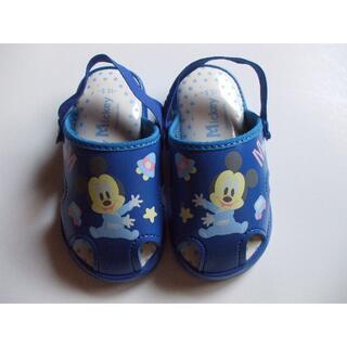 Disney - ディズニー ベビーミッキー 笛付きサンダル 12.5㎝