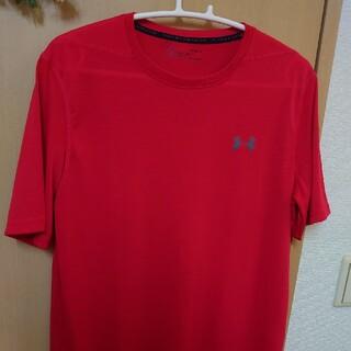 アンダーアーマー(UNDER ARMOUR)のUNDER ARMOUR Tシャツ RED(Tシャツ/カットソー(半袖/袖なし))