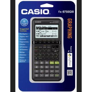 CASIO - 【新品】CASIO 関数電卓 グラフィック電卓fx-9750GIII