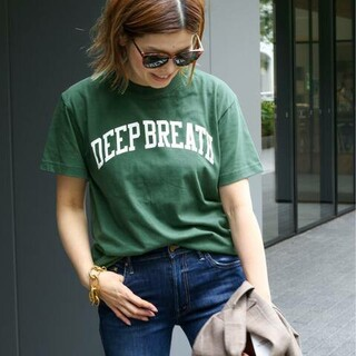 DEUXIEME CLASSE - 【SKIN/スキン】DEEPBREATHTシャツ