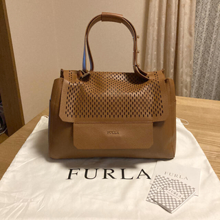 Furla - 未使用♡FURLA フルラ♡カプリッチョ♡ハンドバッグ♡ブラウン