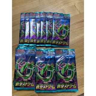 ポケモン(ポケモン)の蒼空ストリーム37パックバラ買い(Box/デッキ/パック)