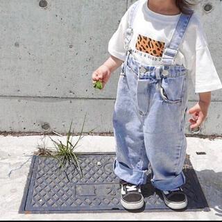 H&M - 韓国子供服 Tシャツ サロペットセット 上下セット 新品