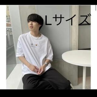 新品未開封 カオヨリナカミ HS TEE white 半袖T(Tシャツ/カットソー(半袖/袖なし))