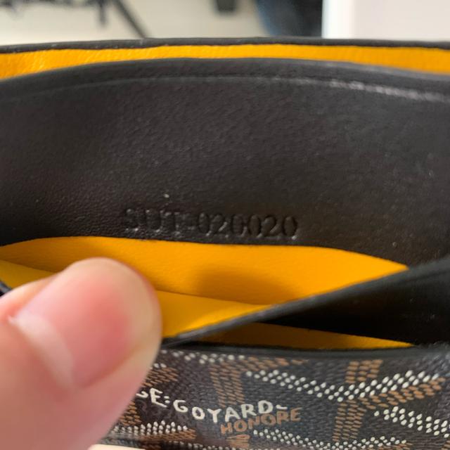 GOYARD(ゴヤール)のゴヤール カードケース メンズのファッション小物(名刺入れ/定期入れ)の商品写真