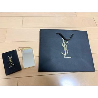 Yves Saint Laurent Beaute - 【袋付き】新品未使用 YSL イヴサンローラン ミラー 鏡 ノベルティ