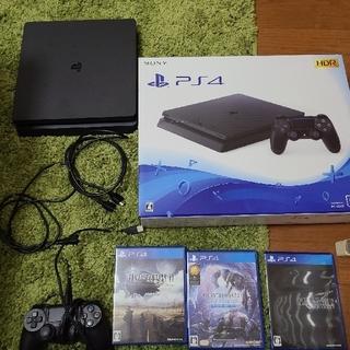 PlayStation4 - PS4 本体 CUH-2200A 500GB ブラック+カセットセット