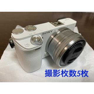 SONY - 【保証付】SONY α6000ダブルズームレンズキット ILCE-6000Y/W