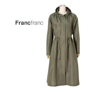 Francfranc - Francfranc アネロレインモッズコート KHカーキ