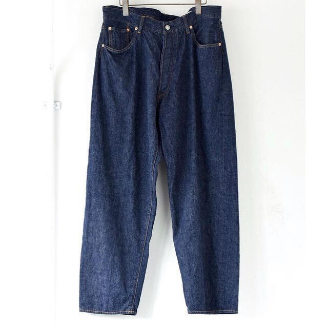 COMOLI(コモリ)の新品未使用品 21SS COMOLI 5P デニムパンツ サイズ2 メンズのパンツ(デニム/ジーンズ)の商品写真