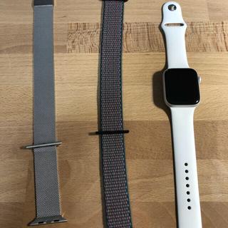 美品 apple watch se white 44mm