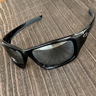Oakley - サングラス オークリー バルブ 偏光 ブラック ミラー 釣り ゴルフ 黒