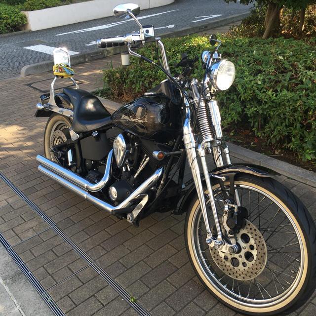 Harley Davidson(ハーレーダビッドソン)の1999 エボリューション ソフテイル 自動車/バイクの自動車(車体)の商品写真