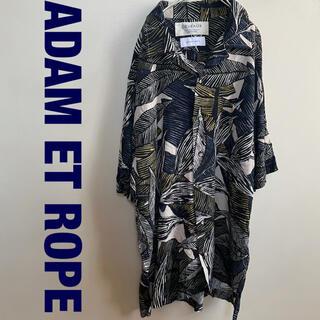 Adam et Rope' - ADAM ET ROPE' DEVEAUX オープンカラー半袖シャツ