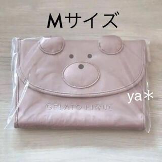 gelato pique - 新品 ジェラートピケ  ベアモチーフ 母子手帳 M くま