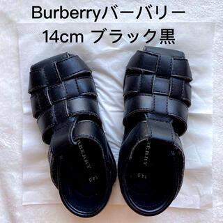 BURBERRY - Burberry バーバリー キッズサンダル 14cm